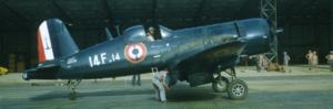 Chance Vought F4U-7 Corsair